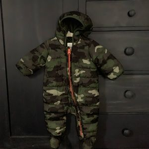 Baby Gap Quilted Snowsuit